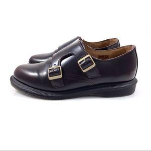 VTG DR. MARTENS patent leather oxford buckle shoes
